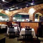 Romano's Macaroni Grill  - seating area