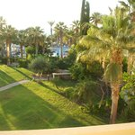 One of the views from our balcony