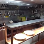 Our new kitchen. We are proud to have been awarded 5 stars. The highest level for food safety an