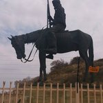 'Defeated boer ' statue