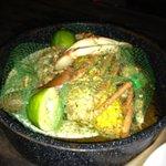Steam pot full of crab