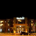 Palm Plaza by night