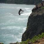 Locals Cliff Diving