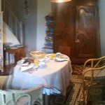 Another view of the breakfast room down stairs