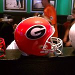 Superior collegiate football decor. Go Dawgs!