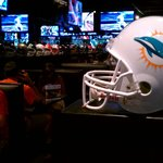 Fantastic NFL sports decor. Go Dolphins!