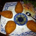 Cream Cheese Shrimp Tempura