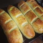 Homemade sub rolls