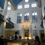 one of the three synagogues that makes up the museum
