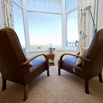 Vintage armchairs, spectacular views