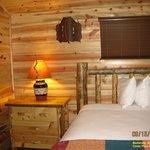 Beautiful Cedar Pass Cabin Interior
