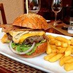 Mighty Medium Rare Burger