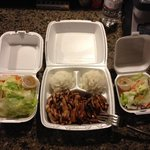 Teriyaki Chicken & Pork meal