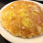 Banana mac nut pancake