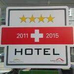 Certification sign - Hotelstars