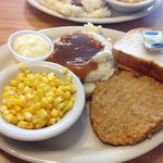 Veal plate at $6.95