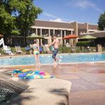 Fun in the sun at our pool!