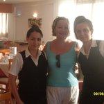 avec Irini et Sofia
