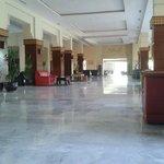 un des hall à salons de l'hotel
