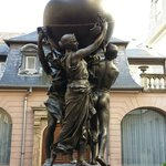 Outside Musee Bartholdi