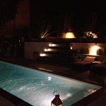 Pool by night - STUNNING