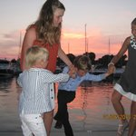 Lovely evening in Sani Marina