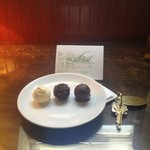 Complementary Truffles in the Room
