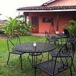 Breakfast area on terrace