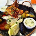 'Burkans pride' fish platter.. To be proud of indeed
