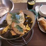 Bouillabaisse for two!