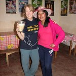 Mary Ellen learn about chicha (corn beer) in the town of Chinchero
