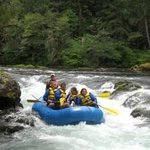 Rafting the North Umpqua River at Umpqua's Last Resort