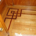 workmanship evident in inlayed floors