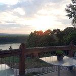 Missouri River from Bistro patio