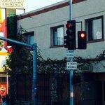 Neighborhood bar, Akbar in Silverlake, Los Angeles.
