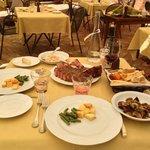 Bistecca fiorentina e contorni