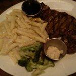 Prime Rib Steak Dinner