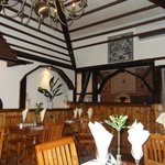 the clever interior, design gave it that authentic old look.