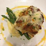crab crusted flounder