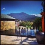Beautiful views to Mount Wellington!