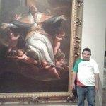 maravilloso cuadro del siglo xv en el museo de san carlos