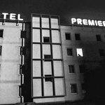 hotel vu du parking