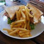 ホットサンドイッチ1