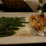 Flounder Stuffed with Crab, Green Beans-Wonderful