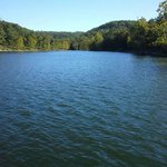 Table Rock Lake from private dock