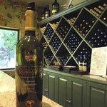 Rombauer wine tasting room