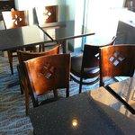 breakfast tables