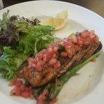 Wonderful grilled Salmon