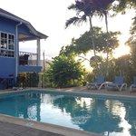 Pool area - beautiful views.