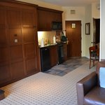 kitchenette area/murphy bed